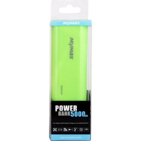 iMyMax Fashion zelená Powerbanka - 5.000mAh