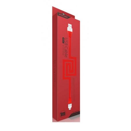 iMyMax Lovely Micro USB kábel - červený