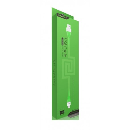 iMyMax Lovely lightning cable - green