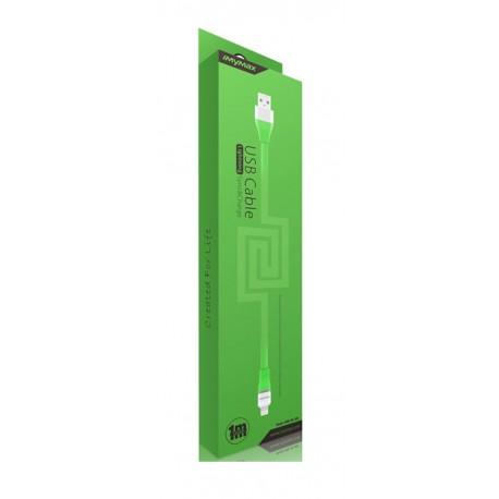 iMyMax Lovely lightning kábel - zelený