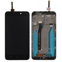 XIAOMI Redmi 4X - Černý LCD displej s rámečkem + dotyková vrstva, dotykové sklo, dotyková deska