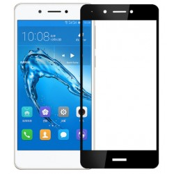 Ochranné tvrzené krycí sklo pro Huawei Nova Smart - černé