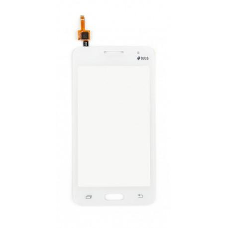 Samsung Galaxy Core 2 Duos G355 - Bílá dotyková vrstva, dotykové sklo, dotyková deska