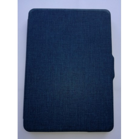 Kindle Paperwhite 1/2/3 - a dark blue bookcase reader case