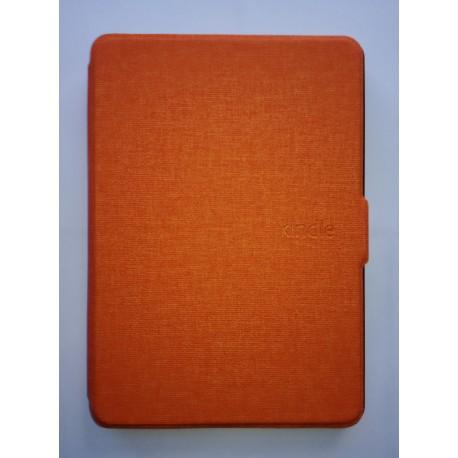 Kindle Paperwhite 1/2/3 - orange bookcase reader case