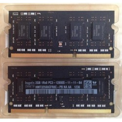Operačnej pamäte RAM 4GB DDR3 1600MHz Apple Mac Mini, Mac Book - Hynix 1Rx8 PC3 12800S