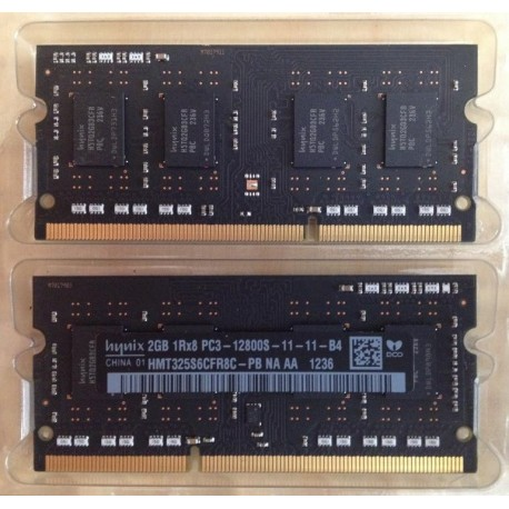 4GB of RAM DDR3 1600MHz Apple Mac Mini, Mac Book - Hynix PC3 1Rx8 12800S