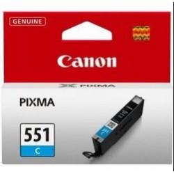 Canon CLI-551C - modrá - originální