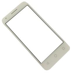 Vodafone Smart Speed 6 VF795, Alcatel One Touch Pixi 3 4.5 4027D 4027X 4027 5017 5017E VF795 - Bílá dotyková vrstva, dotykové sklo, dotyková deska