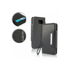 Samsung Galaxy S6 - puzdro typu kniha - čierne