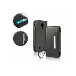Samsung Galaxy S4 mini - puzdro typu kniha - čierne