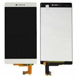 Huawei Ascend P8 GRA-L09 GRA-UL00 GRA-L09 - Biela - LCD displej + dotyková vrstva, dotykové sklo, dotyková doska