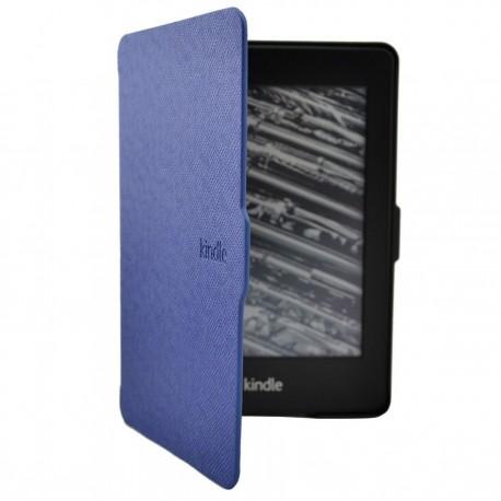 Kindle Paperwhite - tmavě modré pouzdro na čtečku knih - magnetické - PU kůže - ultratenký pevný kryt