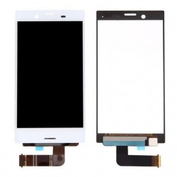Sony Xperia X Compact F5321 - Bílý LCD displej + dotyková vrstva, dotykové sklo, dotyková deska