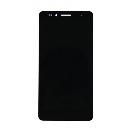 Huawei Honor 5X - černý LCD displej s rámečkem + dotyková vrstva, dotykové sklo, dotyková deska