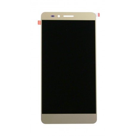 Huawei Honor - gold LCD with frame + touch pad, touch glass, touch panel