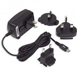BlackBerry ASY-06338 cestovní nabíječka s několika nástavci - mini USB
