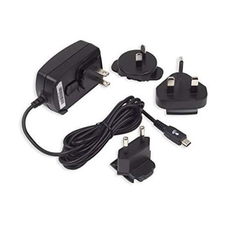 BlackBerry ASY-06338 cestovná nabíjačka s niekoľkými nástavcami - mini USB