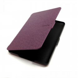 Kindle Paperwhite - purple pouch reader of books - Magnetic - PU leather - an ultra-thin hard cover