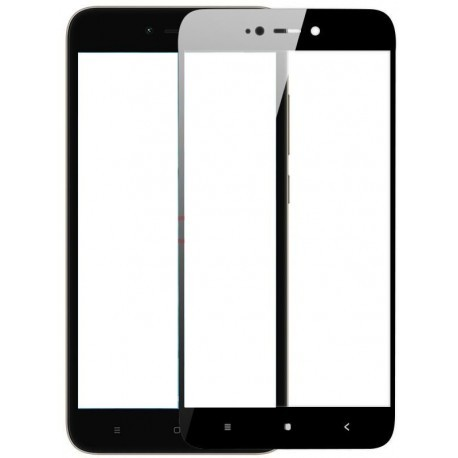 Protective hardened cover for Xiaomi Redmi 5A - black