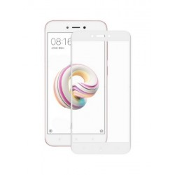 Ochranné tvrdené krycie sklo pre Xiaomi Redmi 5A - biele