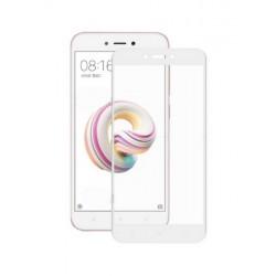 Ochranné tvrzené krycí sklo pro Xiaomi Redmi 5A - bílé