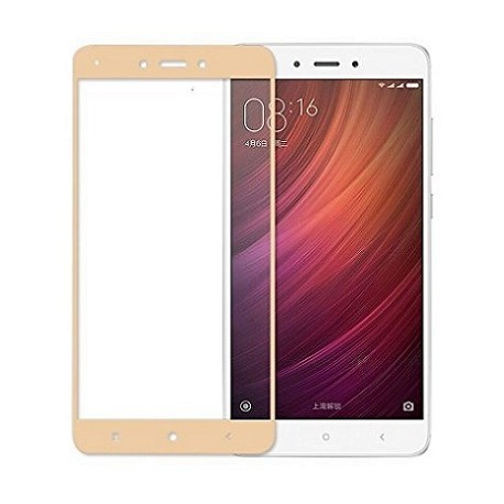 Protective hardened cover for Xiaomi Redmi 5A - gold