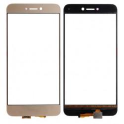 Huawei Ascend P8 Lite 2017 - Zlatá dotyková vrstva, dotykové sklo, dotyková deska + flex