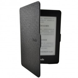 Kindle Paperwhite - black holster reader of books - Magnetic - PU leather - an ultra-thin hard cover model 2