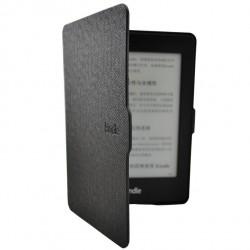Kindle Paperwhite - černé pouzdro na čtečku knih - magnetické - PU kůže - ultratenký pevný kryt model 2