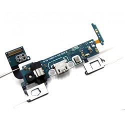 Samsung Galaxy A5 2015 A500f - przewód elastyczny USB do ładowania (złącze) + mikrofon