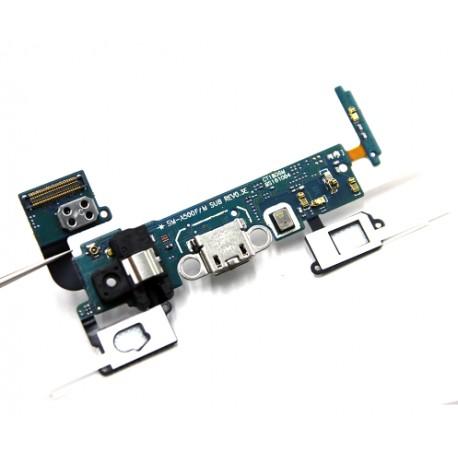 Samsung Galaxy A5 2015 A500f - flex kabel USB nabíjecí port (konektor) + mikrofon