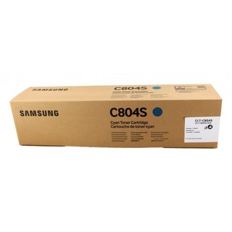 Samsung CLT-C804S - originálny modrý toner