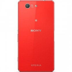 Sony Xperia Z3 Compact D5803 D5833 - zadní kryt baterie - červený