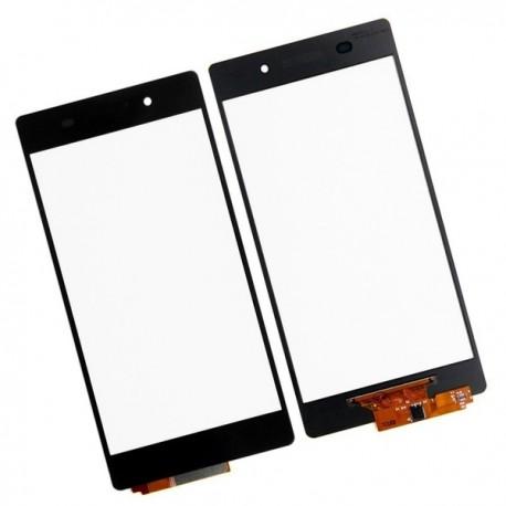 Sony Xperia Z2 L50w D6502 D6503 D6543 - Černá dotyková vrstva, dotykové sklo, dotyková deska