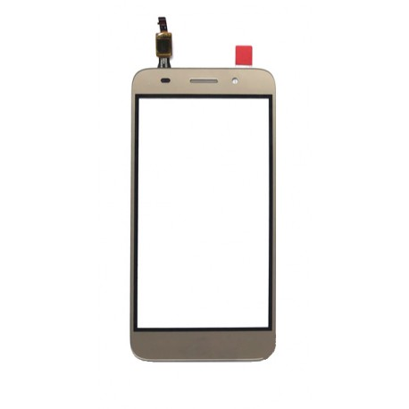 Huawei Y3 2017 CRO-U00 CRO-L02 CRO-L22 - Gold touch pad, touch glass, touch plate + flex