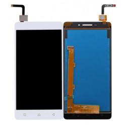Lenovo Vibe P1m P1ma40 P1mc50 - bílý LCD displej + dotyková vrstva, dotykové sklo, dotyková deska