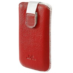 DC B TOP 02 for Blackberry 9800, 9700, 9520, 8520 - red case