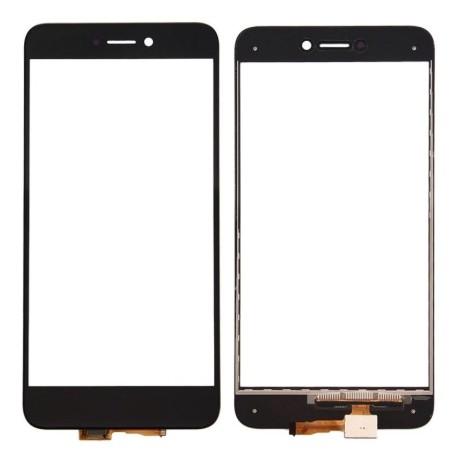 Huawei Ascend P8 Lite 2017 - Čierna dotyková vrstva, dotykové sklo, dotyková doska + flex