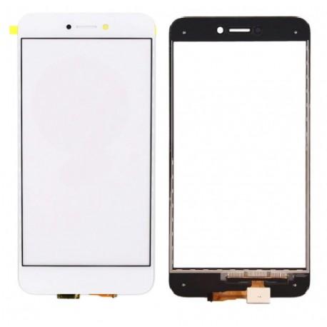 Huawei Ascend P8 Lite 2017 - Bílá dotyková vrstva, dotykové sklo, dotyková deska + flex