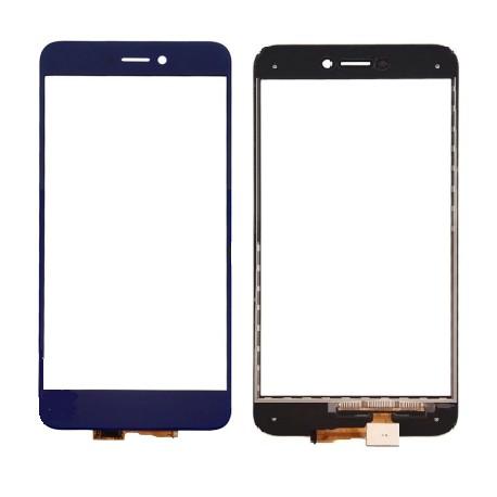 Huawei Ascend P8 Lite 2017 - Tmavě modrá dotyková vrstva, dotykové sklo, dotyková deska + flex