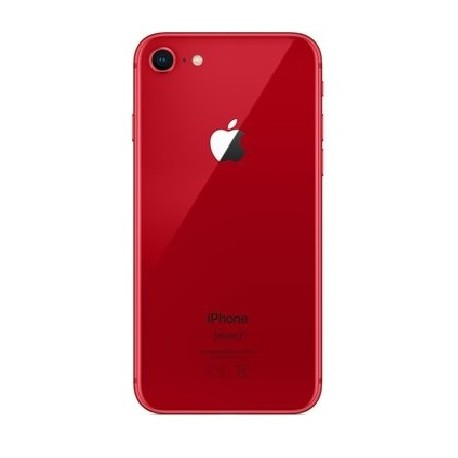 Apple iPhone 8 - battery back cover - red