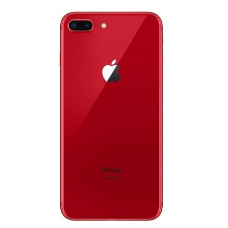 Apple iPhone 8 Plus - battery back cover - red