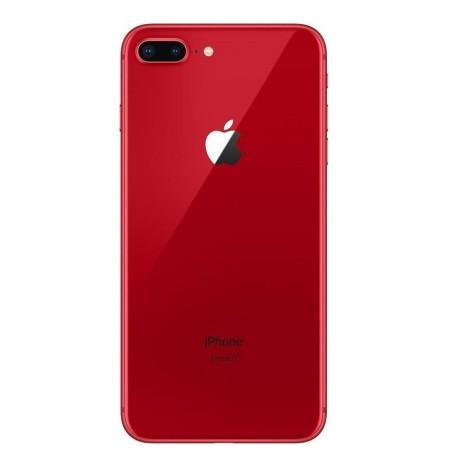 Apple iPhone 8 Plus - zadný kryt batérie - červený