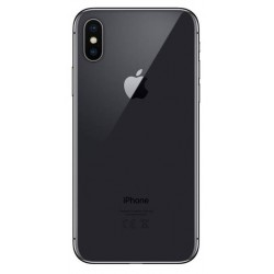 Apple iPhone X - zadní kryt baterie - černý