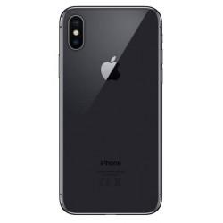 Apple iPhone X - zadný kryt batérie - čierny