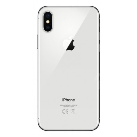 Apple iPhone X - battery back cover - white