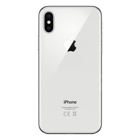 Apple iPhone X - zadní kryt baterie - bílý