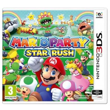 Mario Party - Star Rush - Nintendo 3DS - Box Version
