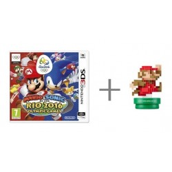 Mario & Sonic - At the Rio 2016 Olympic Games + Classic amiibo - Nintendo 3DS - Box version